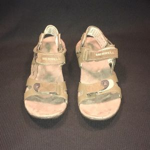 Merrell Sport Sandals Air Cushion Soles Men Sz 8